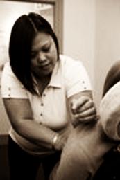 Aileen Tolentino RMT sepia